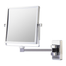 Double side square wall mirror