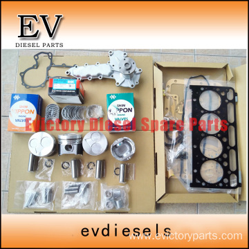 KUBOTA V2203 rebuild overhaul kit gasket bearing piston