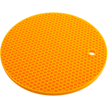Round Shape silicone Honeycomb Pot Holder