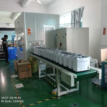Small Products Transporting Packing Line with Belt Conveyor