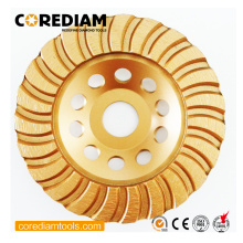 China for Diamond Grinding Wheels Turbo Stone Cup Wheel in 125mm export to Montserrat Manufacturer