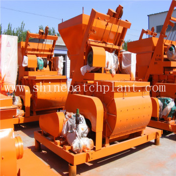 JS  Series Double Shaft Concrete Mixer