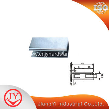 Square Glass Clamp for Glass to Wall