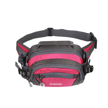 Multifunctional Large Capacity Outdoors Sports Climbing Fanny Pack  Waist Bag With Bottle Holder