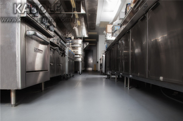 commercial kitchen epoxy flooring