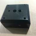 Wholesales Milling customized parts for black anodized block