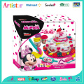 DISNEY MINNIE MOUSE modelling clay birthday cake