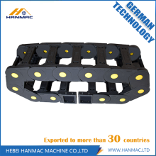 Factory making for Nylon Drag Chain,Nylon Cable Drag Chain,Cable Drag Chain Manufacturers and Suppliers in China Black Nylon Drag Chain Wire Carrier CNC Machine export to Kuwait Manufacturer