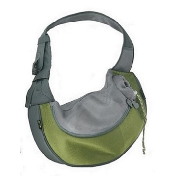 Olive XLarge PVC and Mesh Pet Sling