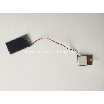 Solar Panel Led Flasher,solar power led light