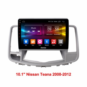 10,1 '' Car Navi Player para Teana 08-12