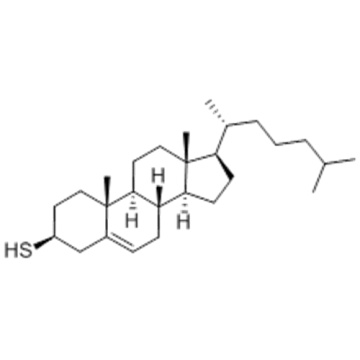 Cholest-5-en-3-thiol, (57279303,3b) - CAS 1249-81-6