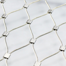 Good Quality for for Stainless Steel Safty Mesh Stainless Steel Rope Fence Netting export to Italy Factories