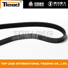 China for Howo Wd615 Engine Parts Engine parts VG2600020258 V-belt Sinotruk spare parts supply to Uruguay Factory