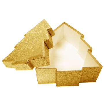 Special Luxury Gold Christmas Tree Box Packaging