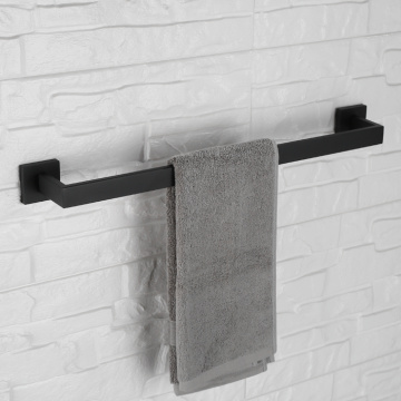 Stainless Steel Wall Mounted Single Towel Bar