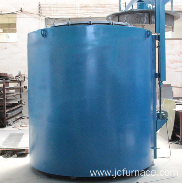 Well type hardening furnace