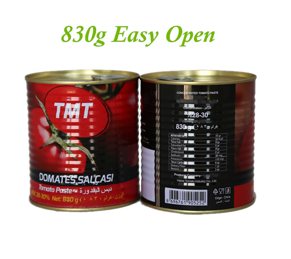 Canned Tomato Paste with size of 800g