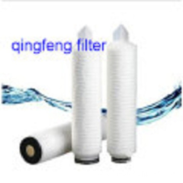 Sterile Grading Hydrophobic PVDF Pleated Filter Cartridge