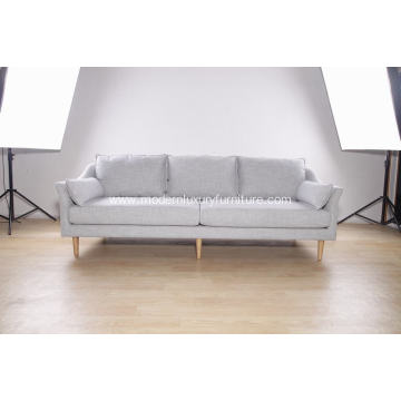 Good Quality for Fabric Sofa 3-seat modern sofa in fabric supply to South Korea Exporter