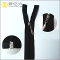 Water-drop puller open metal end coil zipper