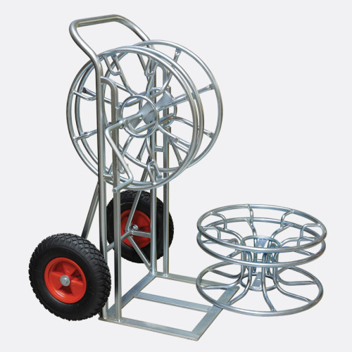 zinc plated skeleton reel stand and trolley