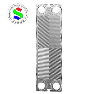 GX42 plate for titanium plate heat exchanger