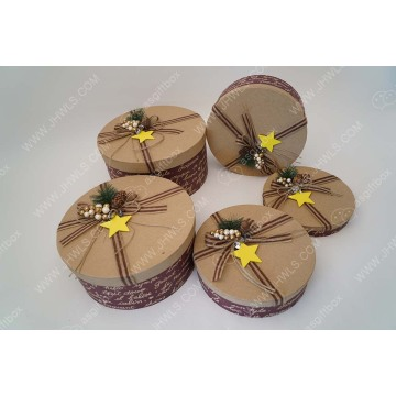 Handmade Wholesale Price Christmas Gift Box