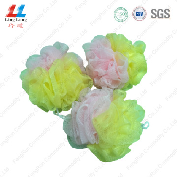 household soft shower luffa scrubber loofah sponge
