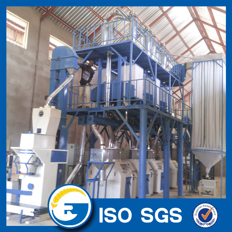 50 tons maize mill machine