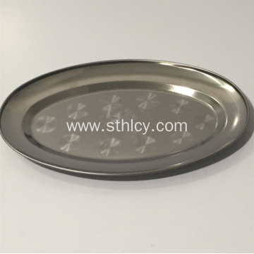 Oval Shape Best Quality Stainless Steel Plates