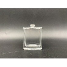 25ml clear square glass bottle for men's spray