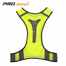 100gsm 100% Polyester Mesh reflective vest for running
