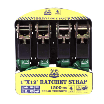 25MM Ratchet Strap with Soft Rubber Handle