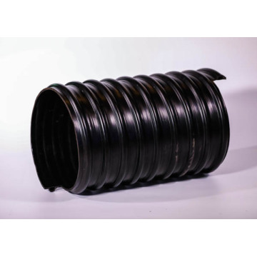PE Coated spiral welded corrugated composite steel pipe