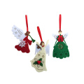 Dancing Angel Christmas Tree Ornaments