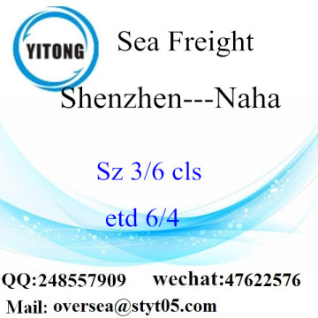 Shenzhen Port LCL Consolidation To Naha