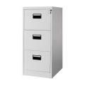 Plastic Handle Three Drawer File Cabinet