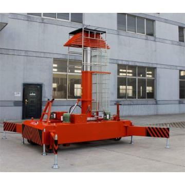 8m Telescoping Telescopic Cylindrical Aerial Work Lift Table