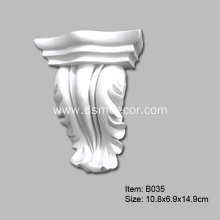 Wholesale price stable quality for Corbel and Brackets PU Architectural Decorative Corbels and Brackets supply to India Importers