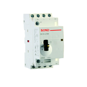 Good Quality for for Manual Modular AC Contactors BCH-25M 4P 25A Manual Modular AC Contactor supply to Nepal Exporter