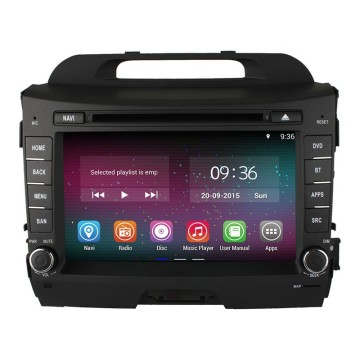 Free shipping Car DVD KIA SPORTAGE Android 4.4.2
