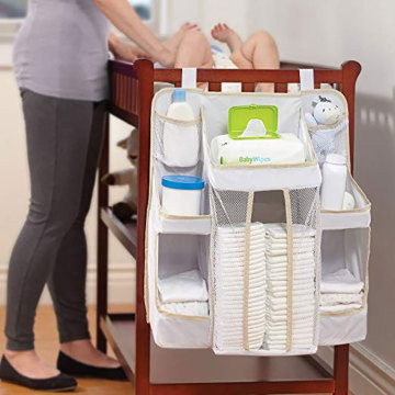 Household Folding Portable Diaper Bag Organizer Pouches