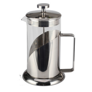 French Press Glass Stainless Steel Coffee Press Pot