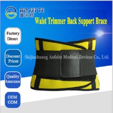 Medical waist trainer breathable in women's shapers