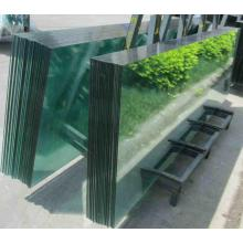 3-19 mm Colored Clear Tempered Glass Balustrade