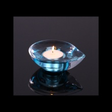 Glass Heart Shape Tealight