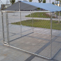 Galvanized Chain Link Cage with UV protected Cover