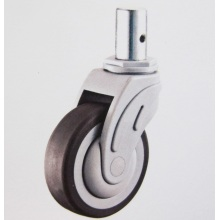 Solid stem anti-bacteria medical caster wheel