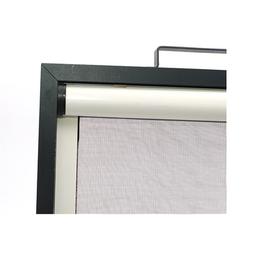 Retractable window with aluminum frame 0929